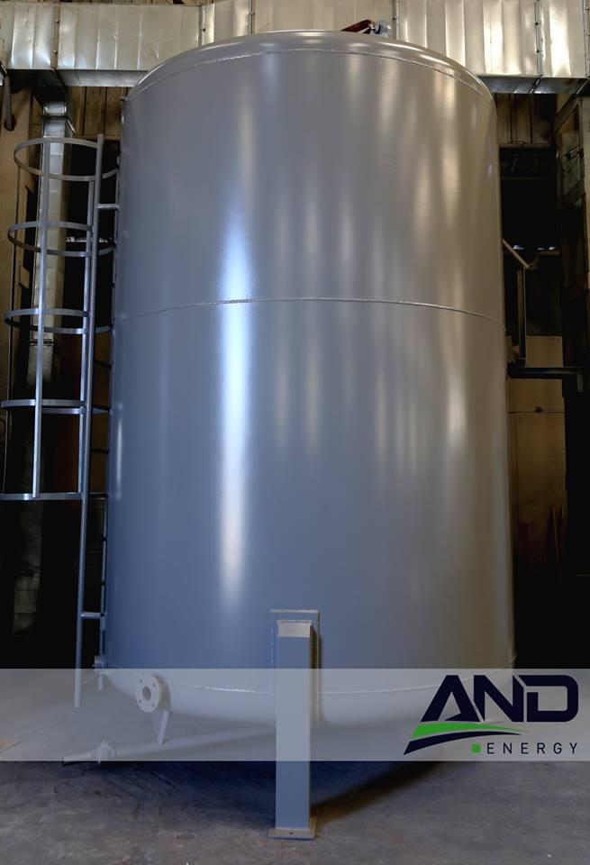 Silindirik Yakıt Tankı (20m3)
