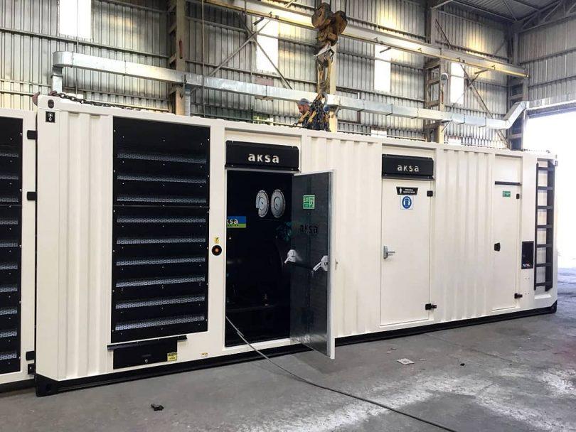 1100 kVA İzolasyonlu Konteyner